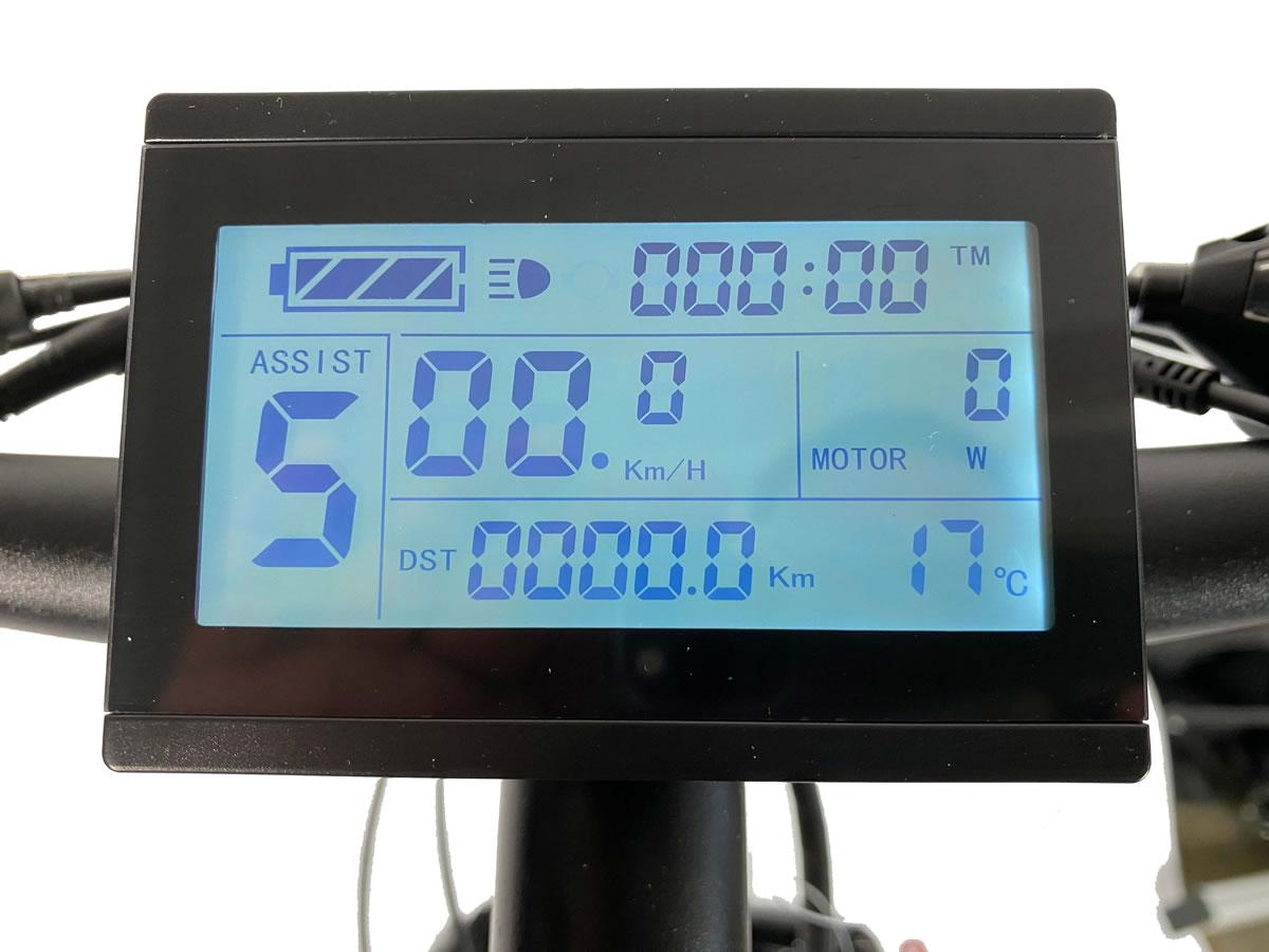LCD control panel